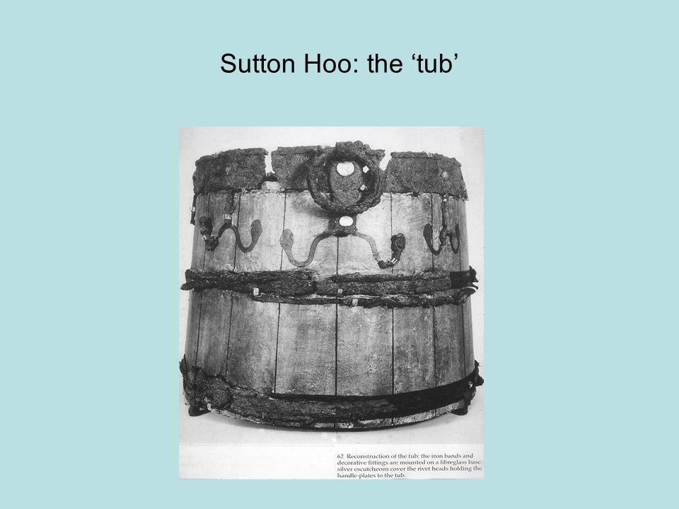 Sutton Hoo: the 'tub'