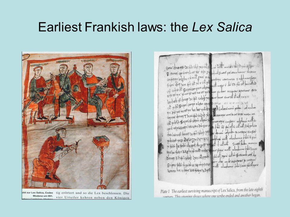 Earliest Frankish laws: the Lex Salica