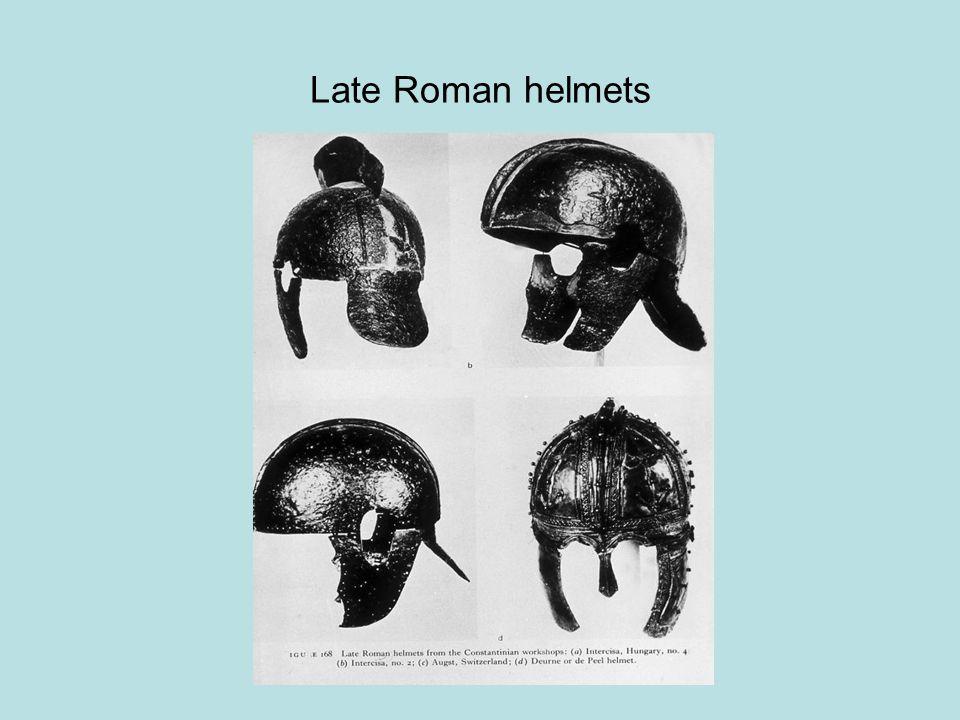 Late Roman helmets