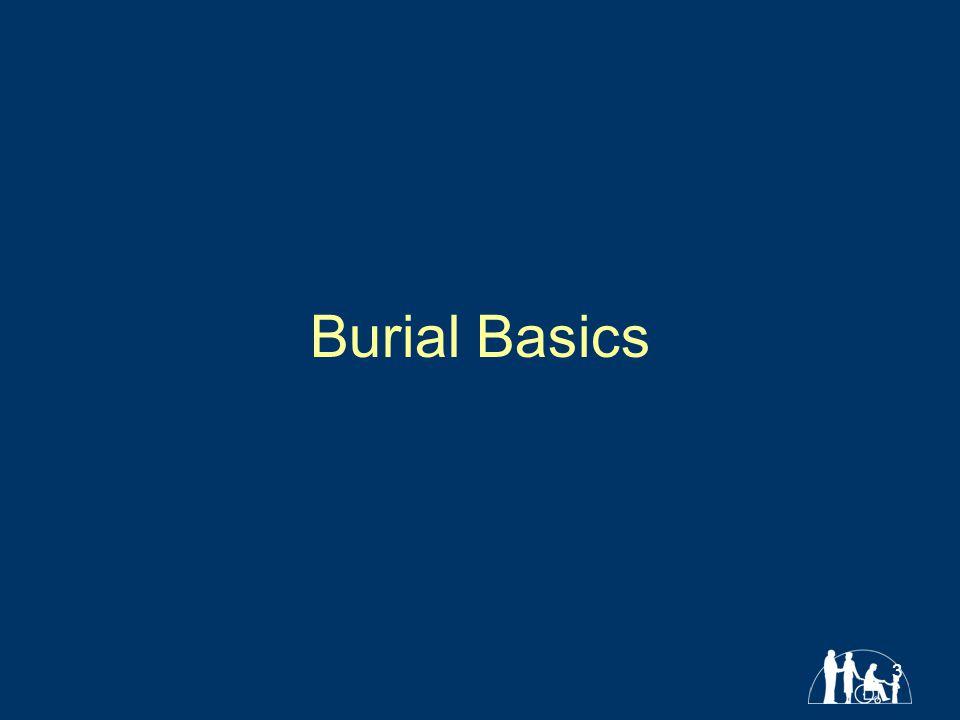 3 Burial Basics