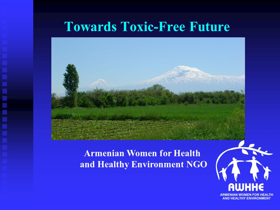Towards Toxic-Free Future Armenian Women for Health and Healthy Environment NGO