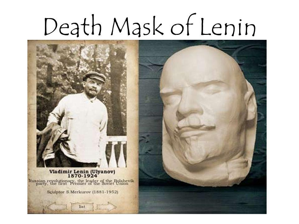Death Mask of Lenin