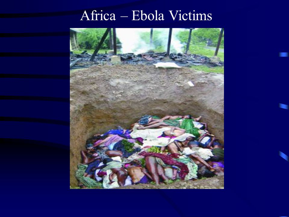 Africa – Ebola Victims