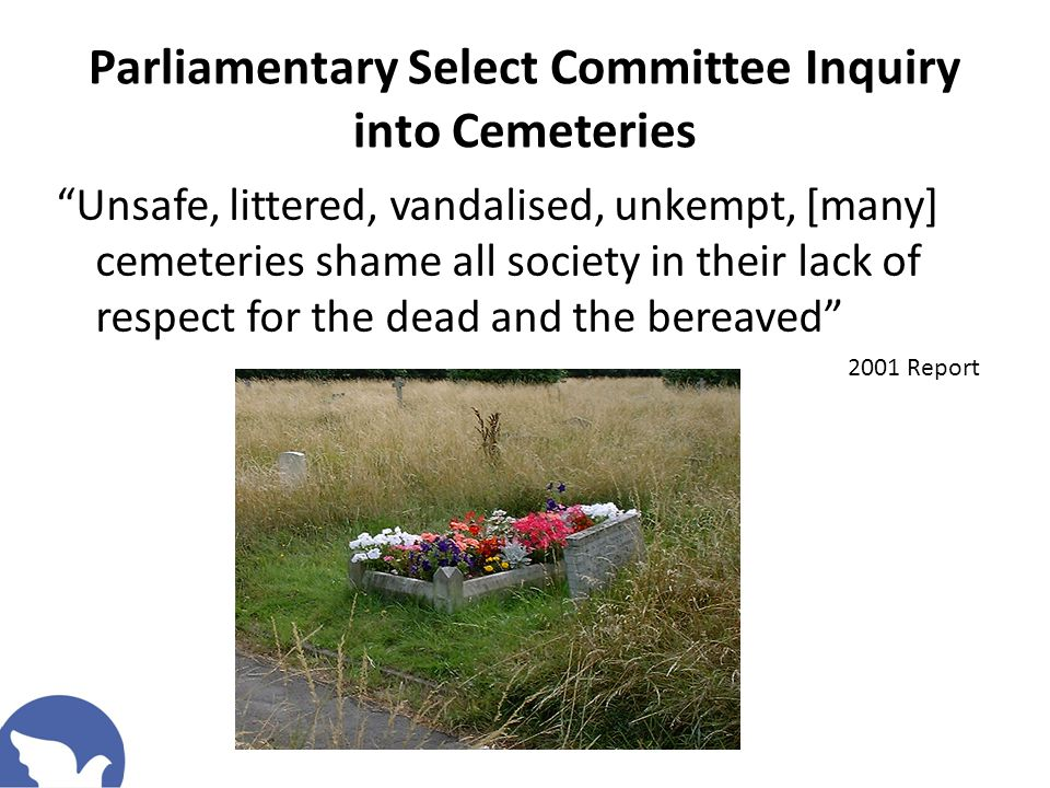 Cemeteries are NOT sustainable