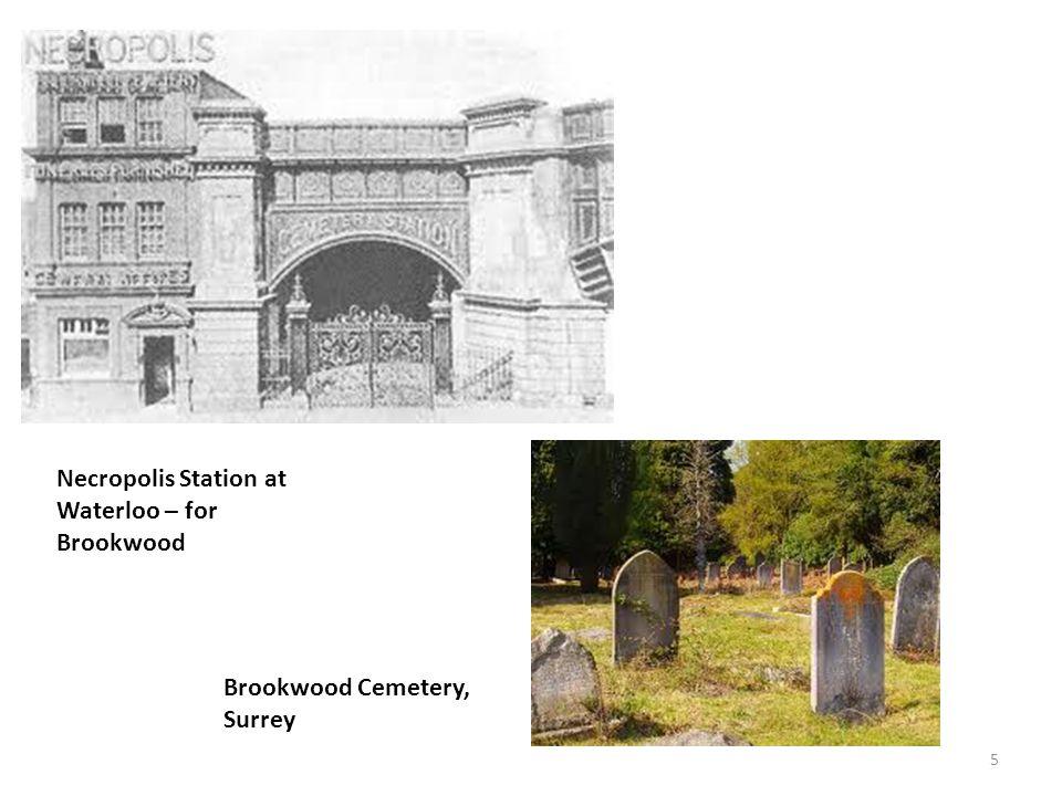 Brookwood Cemetery, Surrey 5 Necropolis Station at Waterloo – for Brookwood