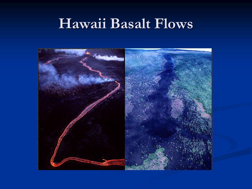 Hawaii Basalt Flows