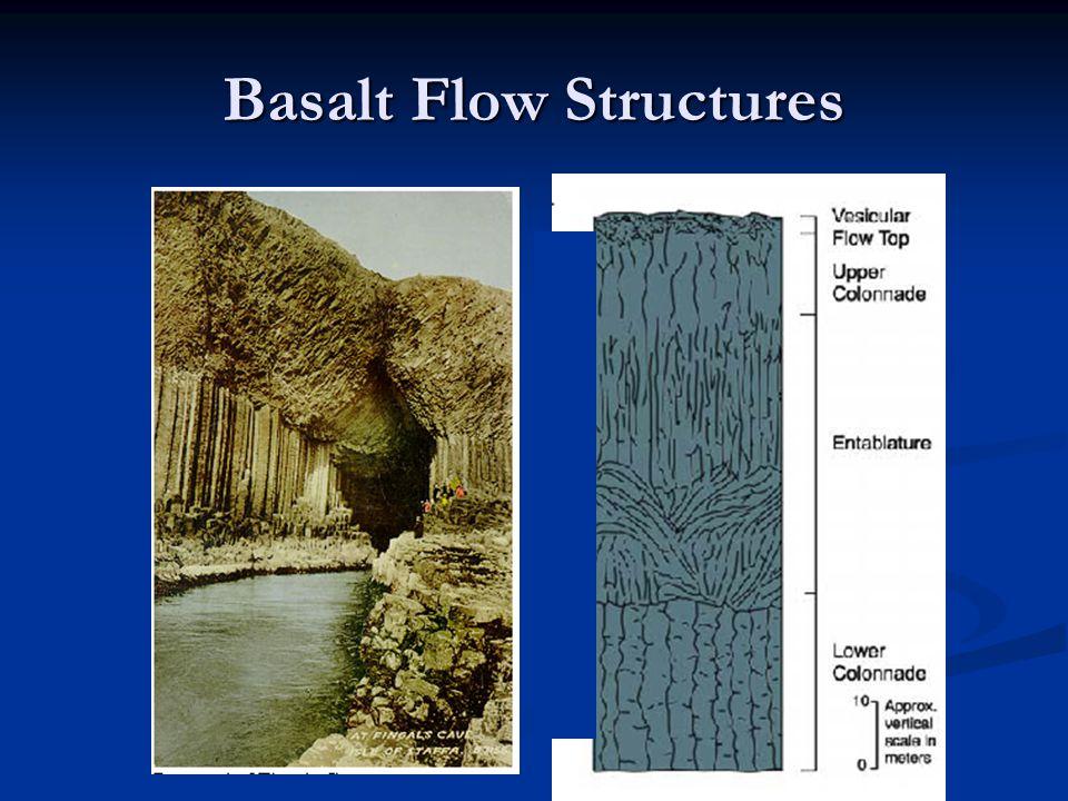 Basalt Flow Structures