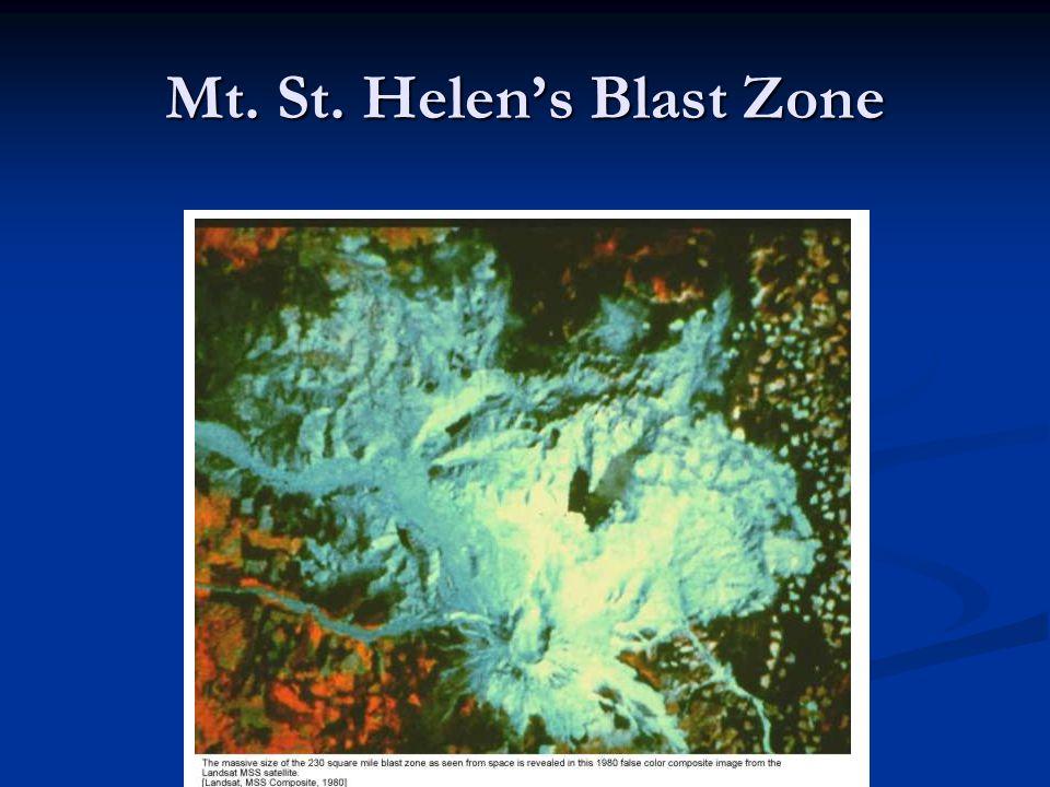 Mt. St. Helen's Blast Zone