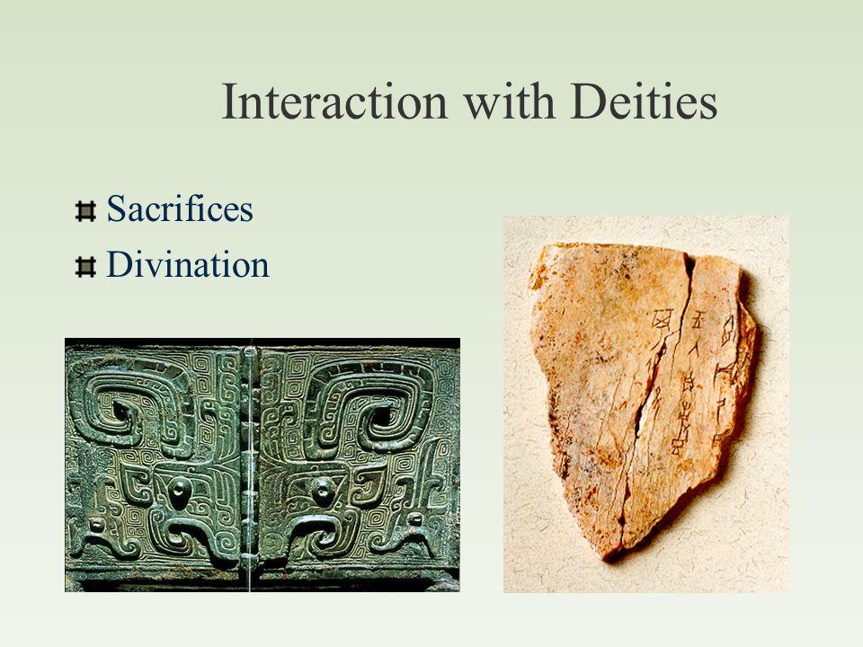 Shang Dynasty Religion Shangdi 上帝 Royal Ancestors Nature Spirits