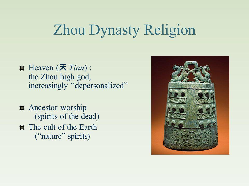 Dating All dates B.C.E. 商 朝 Shang Dynasty1766-1122 西 周 Western Zhou (Chou) Dynasty 1122-771 東 周 Eastern Zhou (Chou) Dynasty 770-256 春 秋 Spring & Autum
