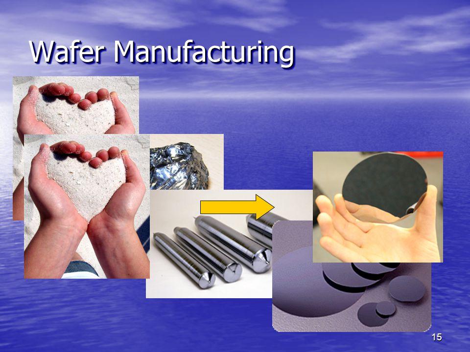 Wafer Manufacturing 15