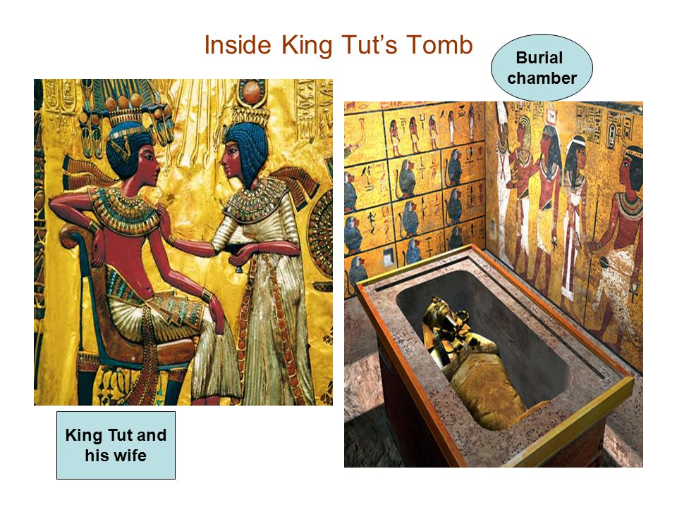 Inside King Tut's Tomb King Tut and his wife Burial chamber
