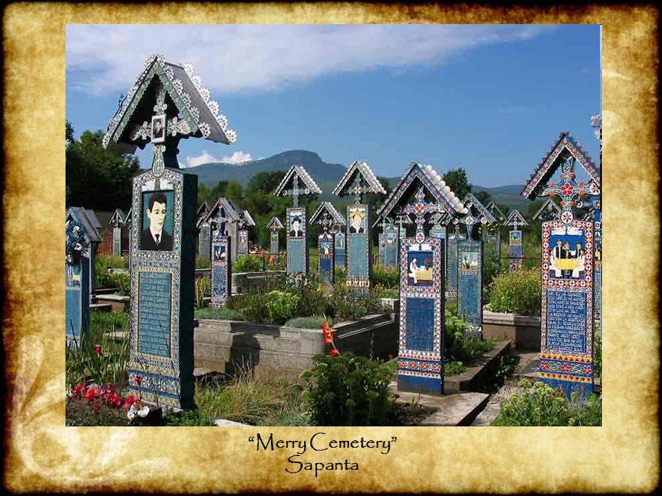 """Merry Cemetery"" Sapanta"