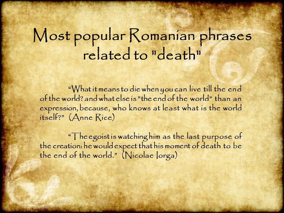 Most popular Romanian phrases related to