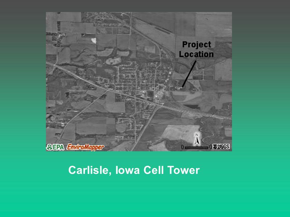 Carlisle, Iowa Cell Tower