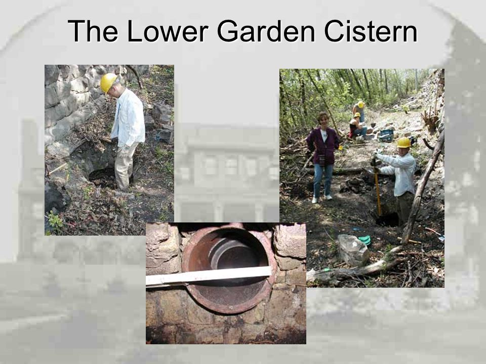 The Lower Garden Cistern