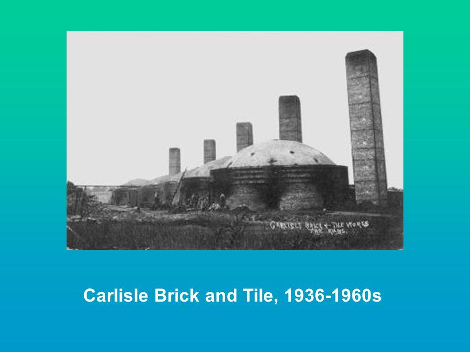 Carlisle Brick and Tile, 1936-1960s