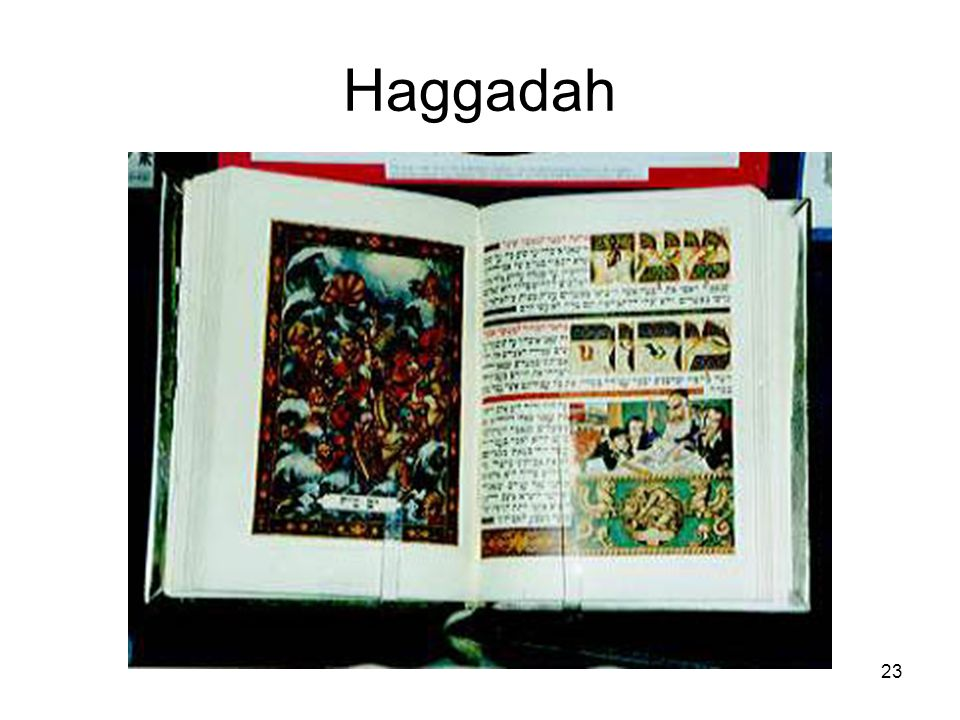23 Haggadah