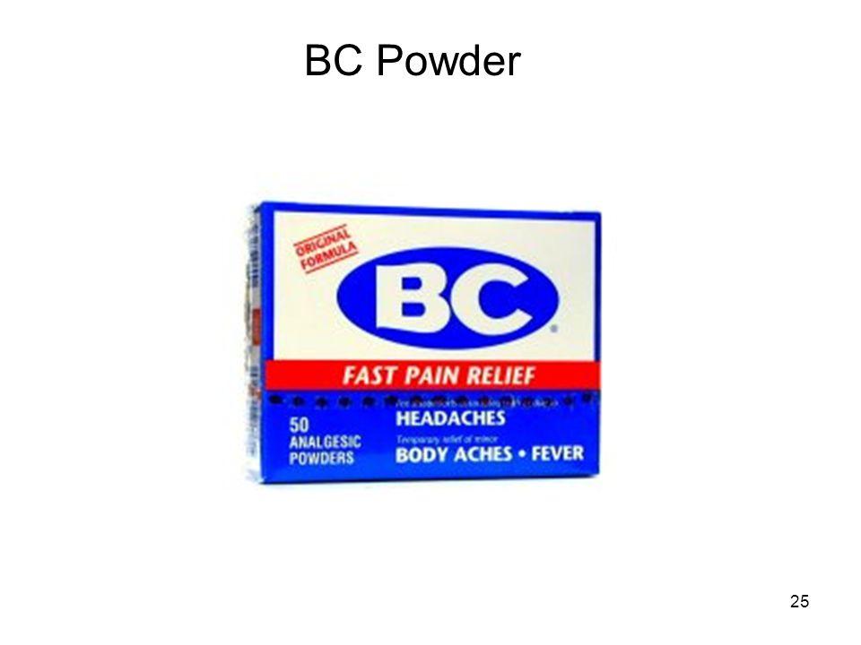 25 BC Powder