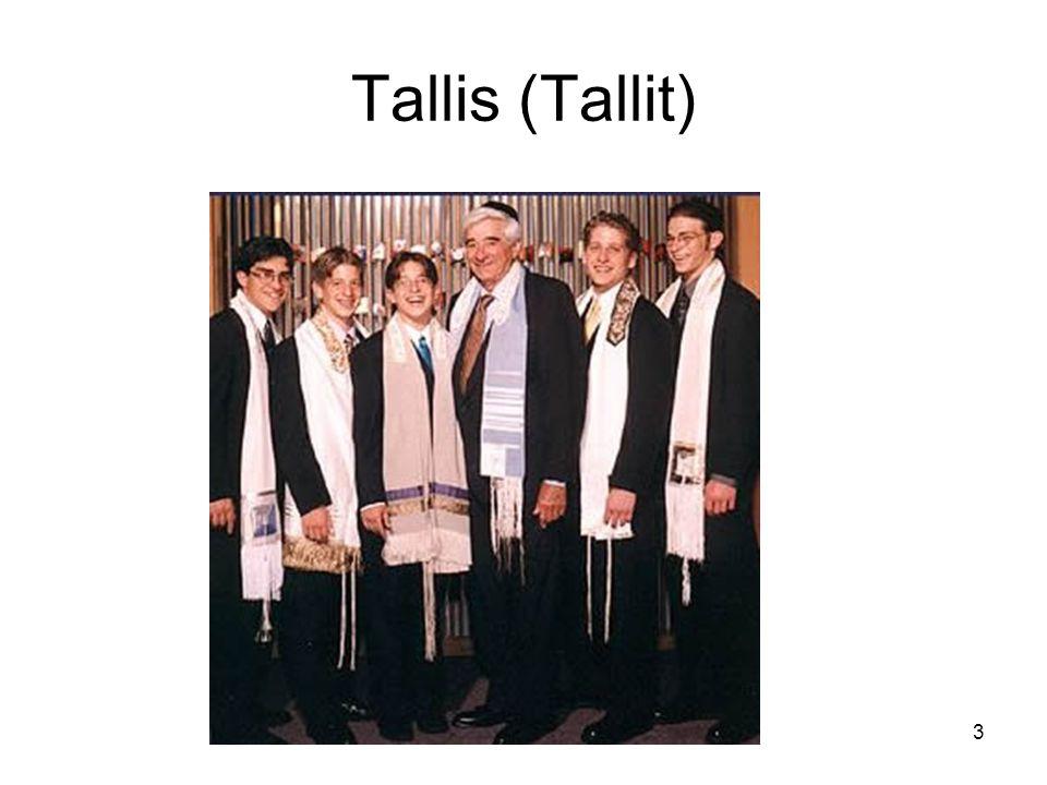 3 Tallis (Tallit)