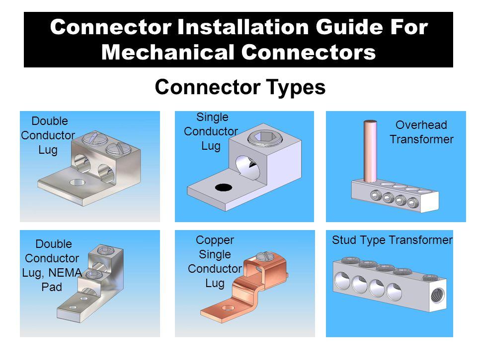Overhead Transformer Single Conductor Lug Stud Type Transformer Double Conductor Lug Double Conductor Lug, NEMA Pad Copper Single Conductor Lug Connec