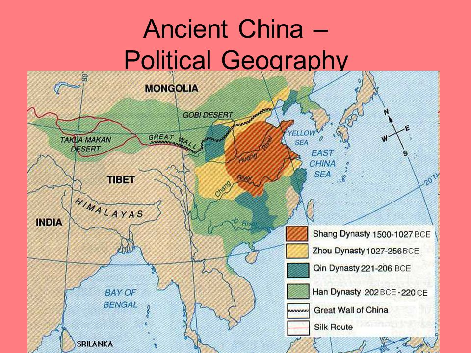 Ancient China – Political Geography