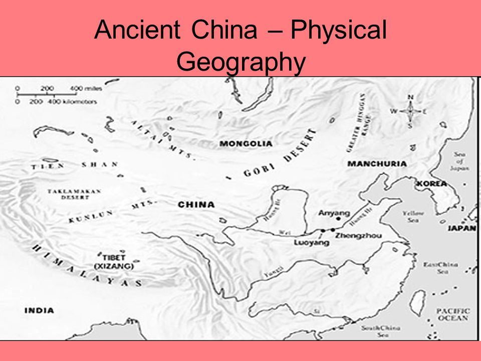 Ancient China – Physical Geography