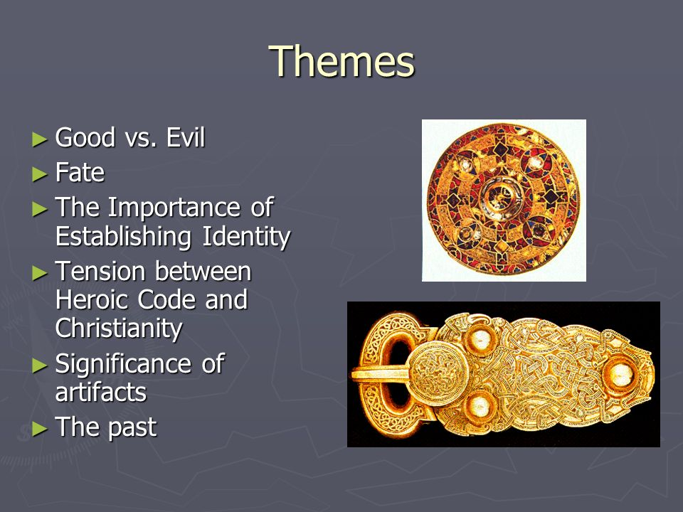 Themes ► Good vs.