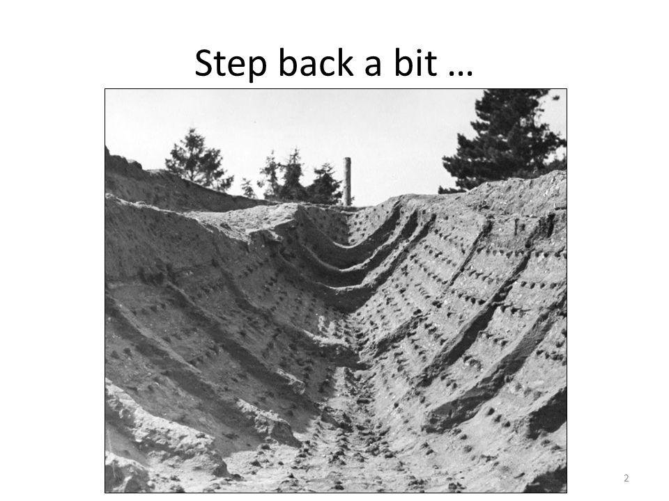Step back a bit … 2