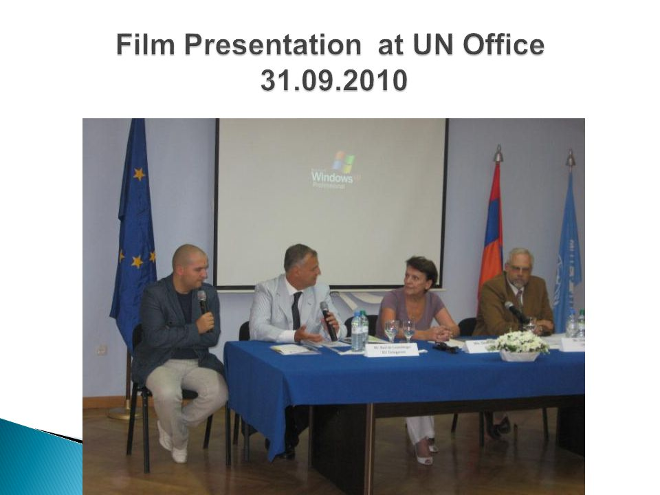 Film Presentation at UN Office 31.09.2010