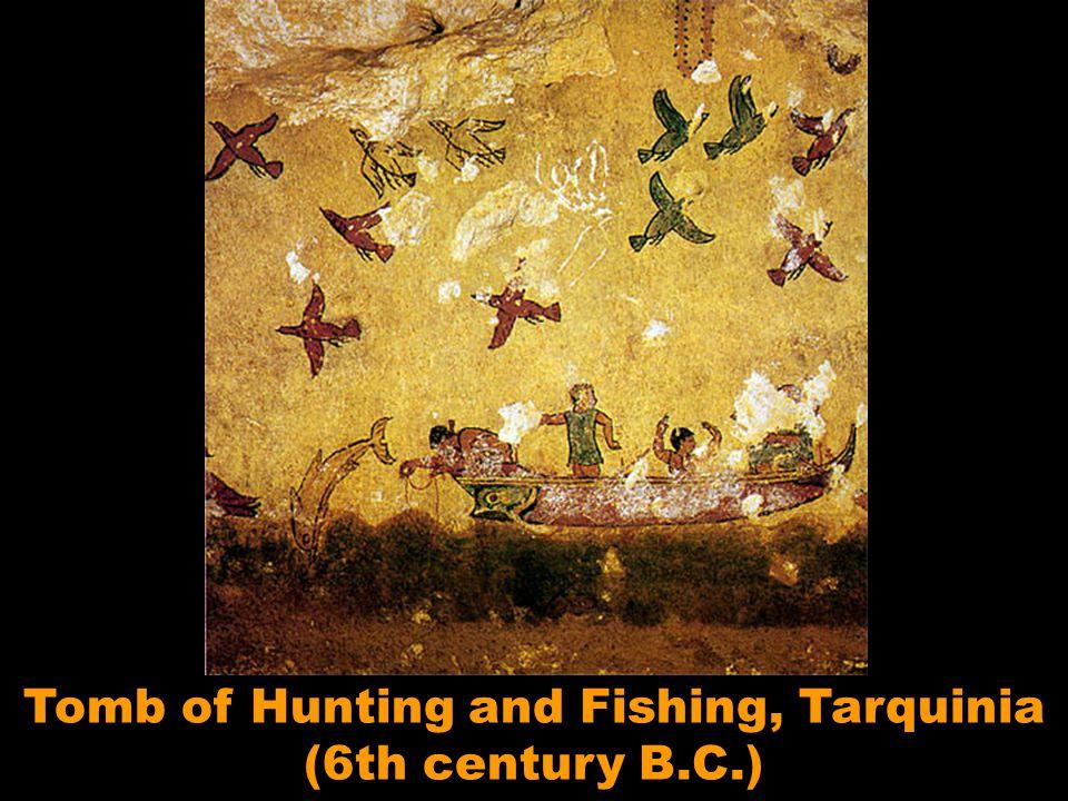 Tomb of Hunting and Fishing, Tarquinia (6th century B.C.)