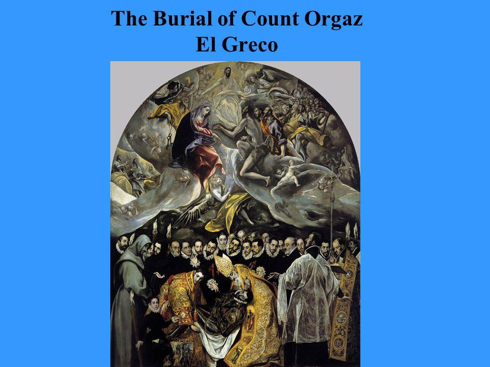 The Burial of Count Orgaz El Greco