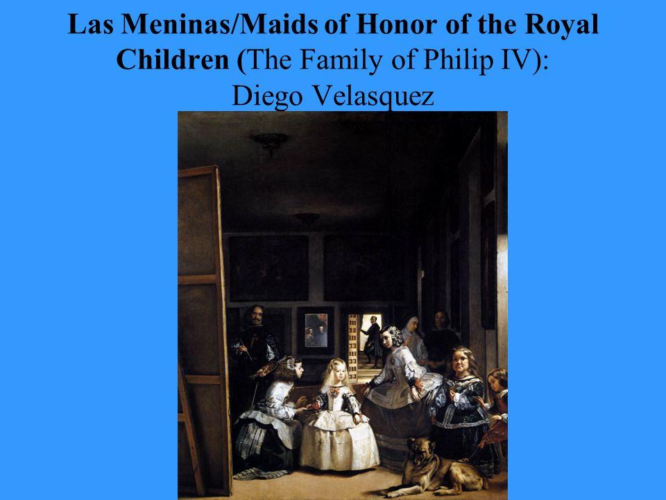 Las Meninas/Maids of Honor of the Royal Children (The Family of Philip IV): Diego Velasquez