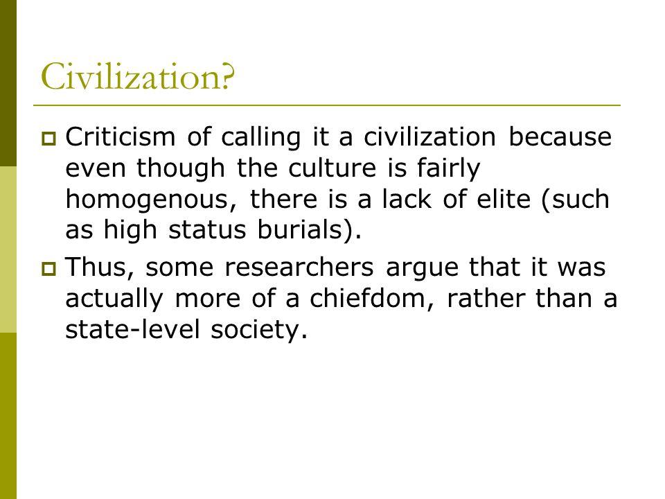 Civilization.