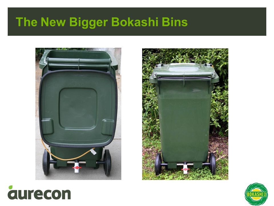 The New Bigger Bokashi Bins