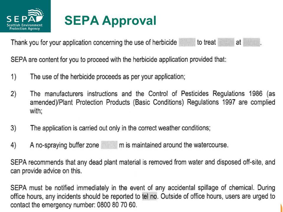 SEPA Approval