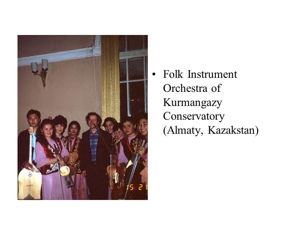 Folk Instrument Orchestra of Kurmangazy Conservatory (Almaty, Kazakstan)