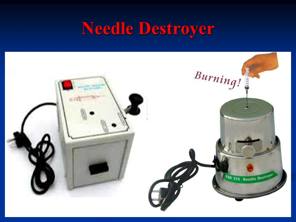 Needle Destroyer