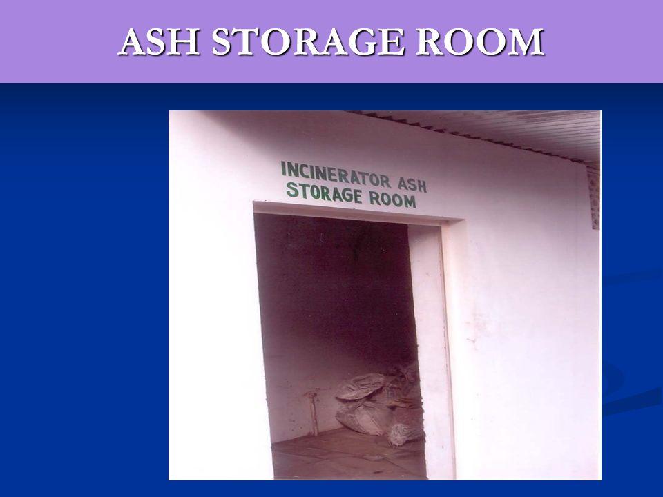 ASH STORAGE ROOM