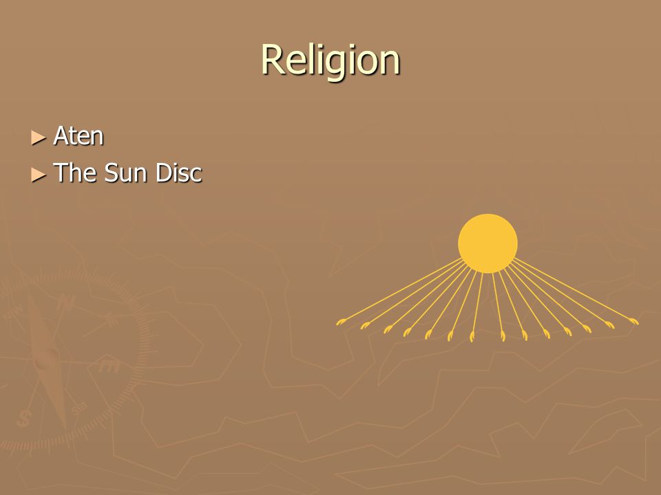 Religion ► Aten ► The Sun Disc