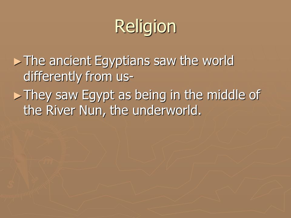 Religion ► Temples were considered dwelling places for gods.
