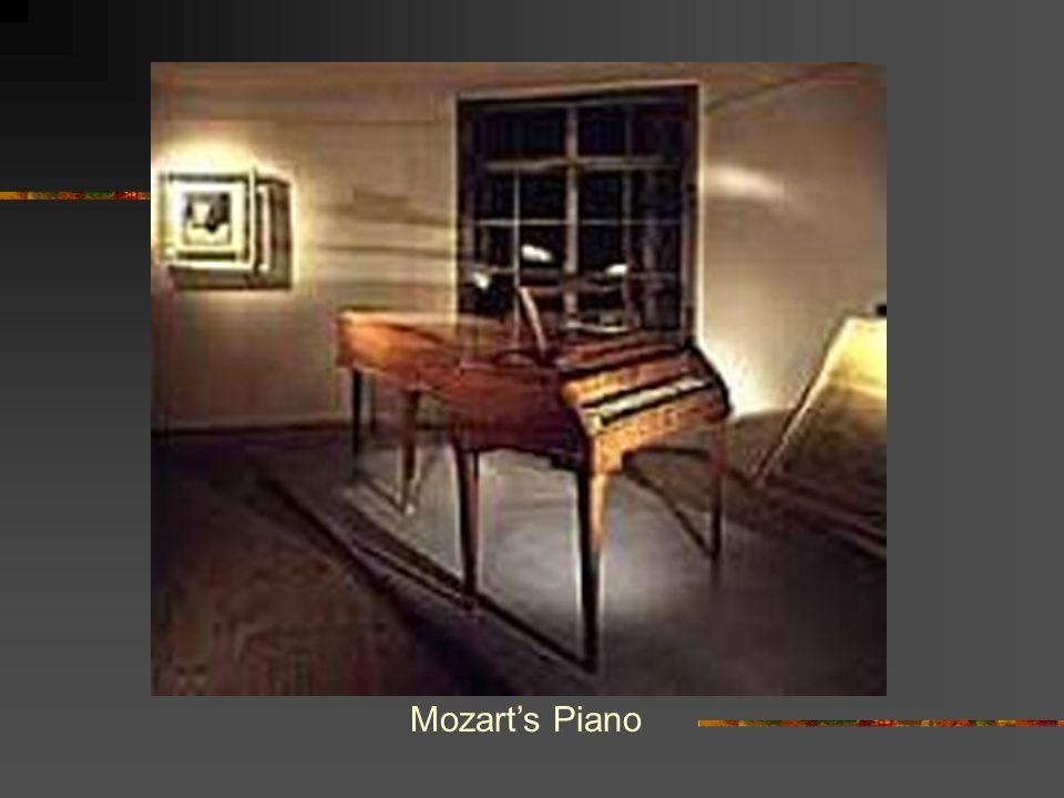 Mozart's Piano