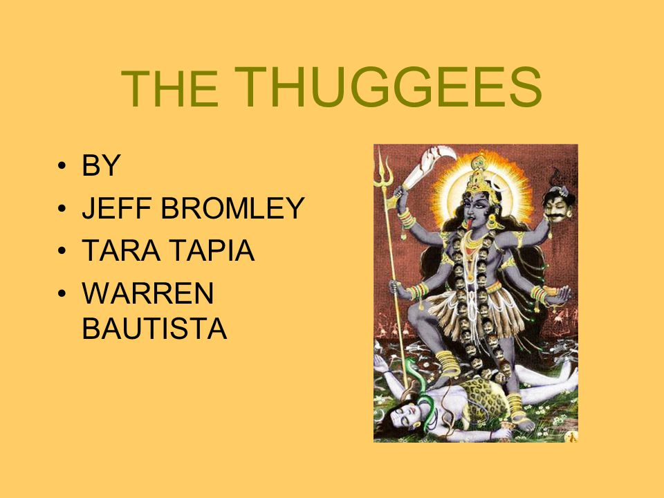 THE THUGGEES BY JEFF BROMLEY TARA TAPIA WARREN BAUTISTA