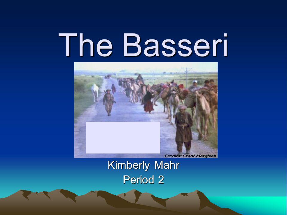 The Basseri Kimberly Mahr Period 2