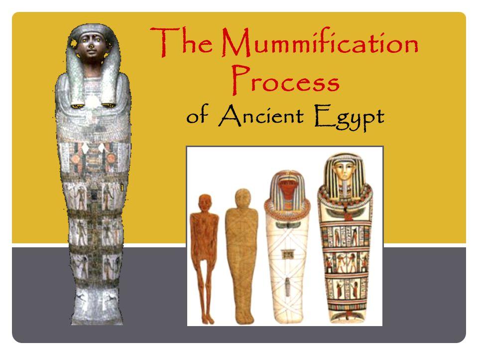 The Mummification Process of Ancient Egypt