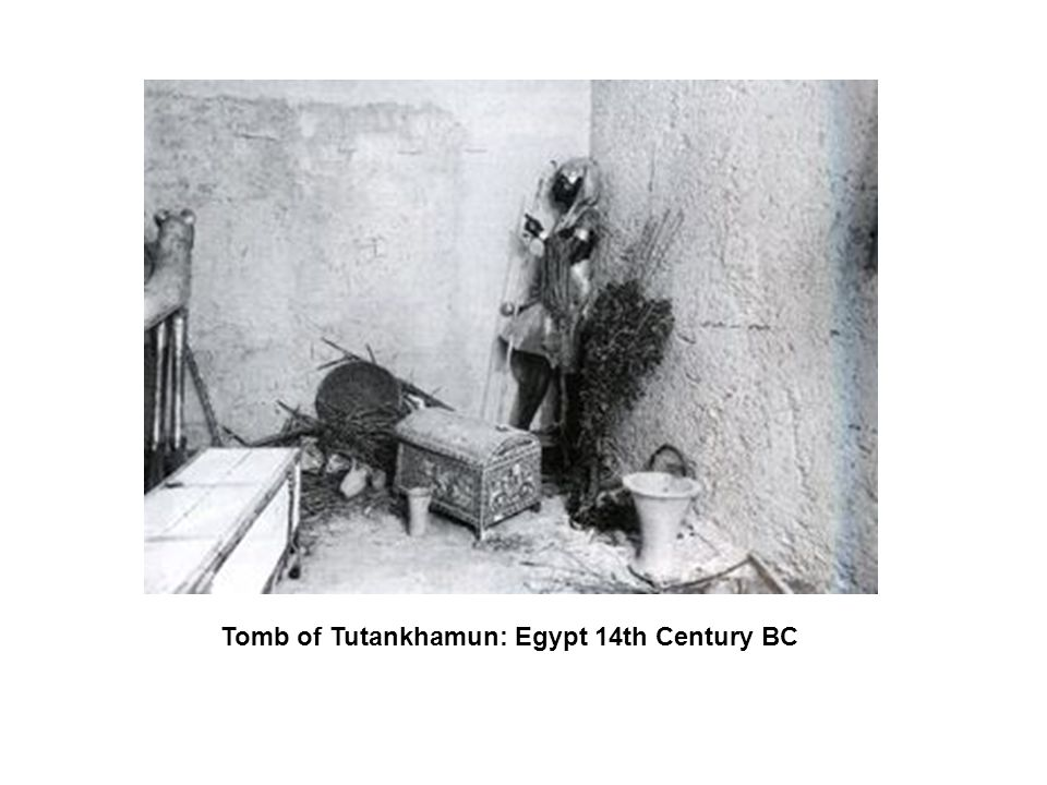 Tomb of Tutankhamun: Egypt 14th Century BC