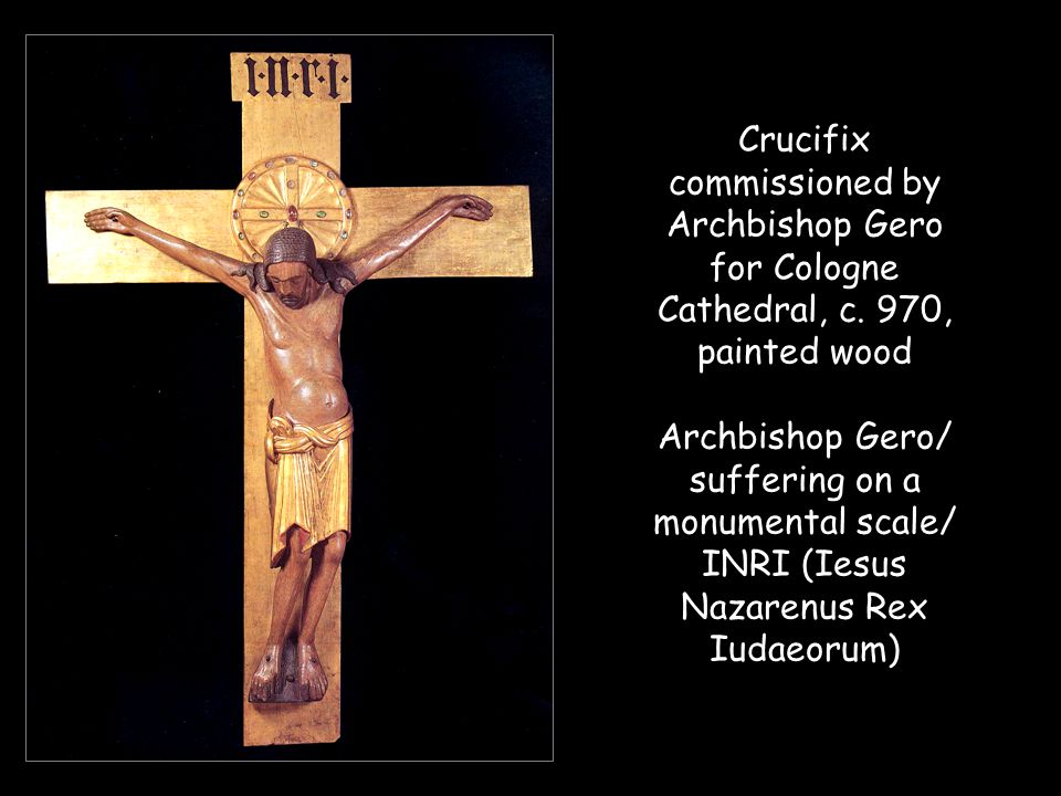 Crucifix commissioned by Archbishop Gero for Cologne Cathedral, c.
