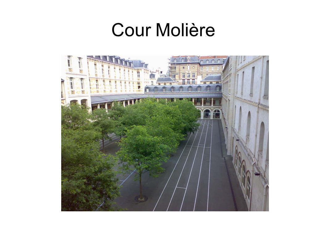 Cour Molière