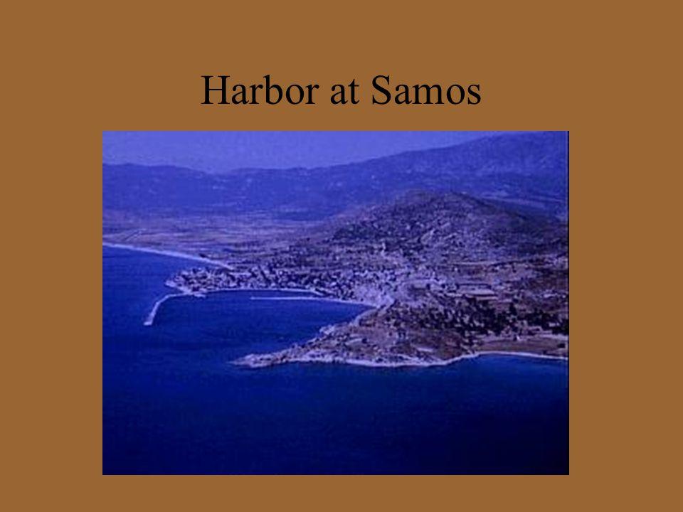 Harbor at Samos