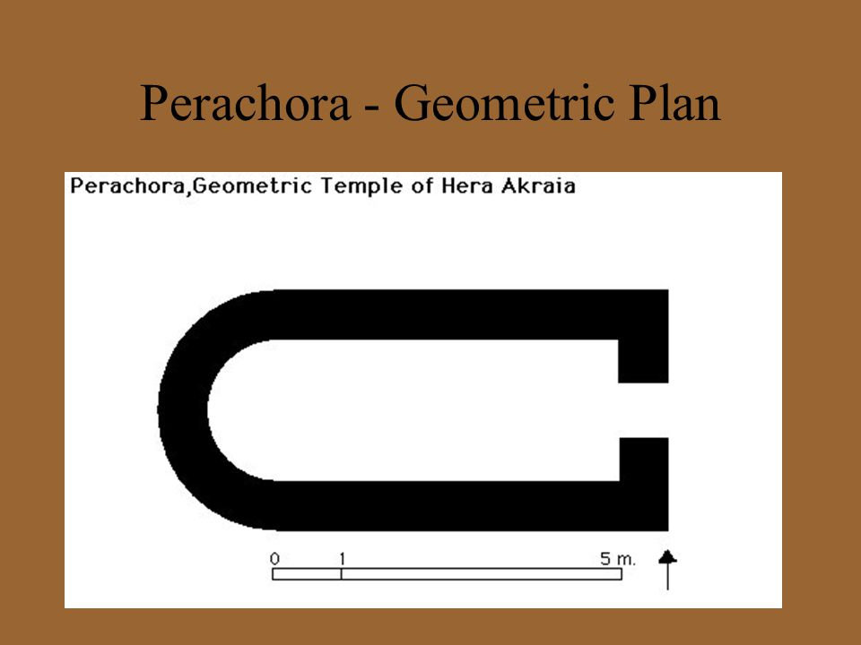 Perachora - Geometric Plan